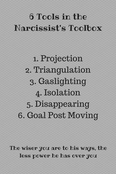 29 Best Narcissist Triangulation images in 2017 | Narcissist