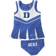 Duke Blue Devils Nike Infant Cheerleader Set