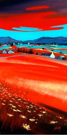 Scott Naismith : Red Skye 4