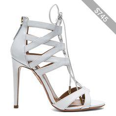 Aquazzura Beverly Hills Calfskin Leather Sandals