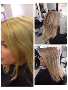 This lovely lady had previously been doing scalp bleach blond. She found the roo. This lovely lady Scalp Bleach, Baby Highlights, Wash And Blow Dry, Schwarzkopf Professional, Color Correction, New Hair, Blond, Wedding Hairstyles, Curls