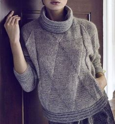 Round Neckline Stripe Regular Shift Sweaters Floryday - Sweat Shirt - Ideas of Sweat Shirt - Round Neckline Stripe Regular Shift Sweaters Floryday Shirts & Tops, Shirt Blouses, Trendy Outfits, Fashion Outfits, Womens Fashion, Sweat Shirt, Pulls, Cashmere Sweaters, Knitwear