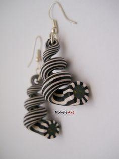 Spiral earrings by Michela