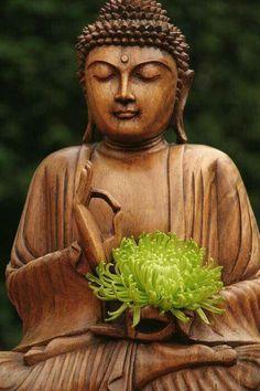 Peace & Kindness start within; inspiration is all around us. Buddha, Nature, Living Beings, Life ☮ ♥ ॐ Lotus Buddha, Art Buddha, Small Buddha Statue, Buddha Life, Buddha Zen, Buddha Buddhism, Buddha Statues, Buddha Canvas, Gautama Buddha