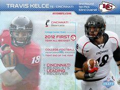 3rd round 1st pick: Travis Kelce TE - Cincinnati