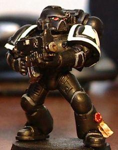 Raven Guard tactical marine