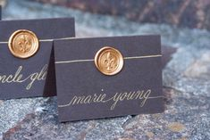 Wedding Name Place Cards  / Escort Cards / by SouthernCalligraphy, $2.25
