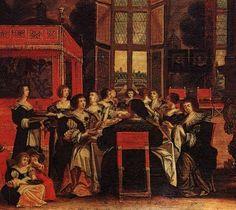 Abraham Bosse Salon de dames - Salon (gathering) - Wikipedia, the free encyclopedia