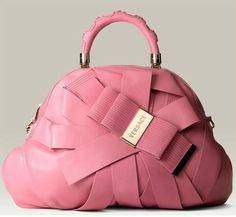 Pink Versace bag