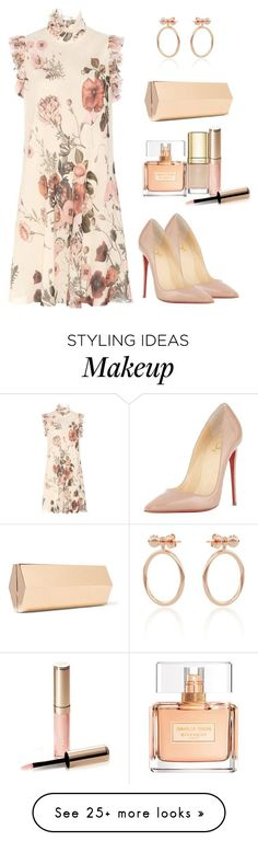 """""""Untitled #688"""" by styledbyhkc on Polyvore featuring Giambattista Valli, Lee Savage, Smith/Grey, Christian Louboutin, Givenchy, Dolce&Gabbana and By Terry"""