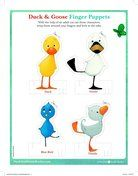 Lots of free printables to pair with the Duck & Goose book series!