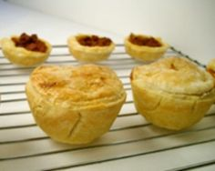 Montana Pasties or Meat Pies  These tasty meat pies were popularized in the coal mines of Butte, MT, but you can bring these muffin-sized versions into your home with this recipe.