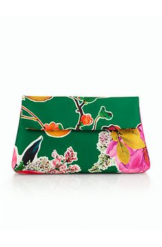Blossoms & Quince Clutch - Talbots