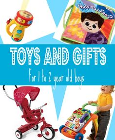 Best Gifts & Top Toys for 1 year old Boys in 2014 - Christmas & Birthday Ideas for 1-2 year olds