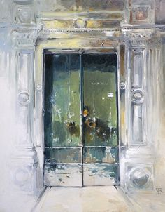 Doors In Genoa by Tony Belobrajdic