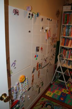 Magnetic Dry Erase Boards Large Wall Tiles