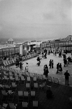 GB. England. East Sussex. Bexhill on Sea. De La Warr Pavilion. 1978 © Martin Parr