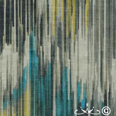 More painterly #stripes from the Forte Cloth #Design portfolio!