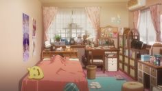Anime Living: Shimamura Uzuki's bedroom,The iDOLM@STER...