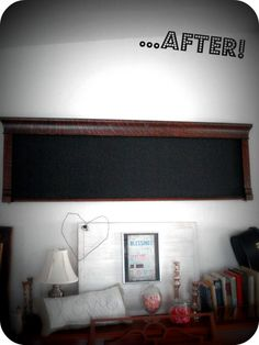 DIY turning the front of an old upright piano into a hanging chalkboard