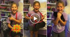 Girl Has Amazing Reaction After Mom Surprises Her With Kitten
