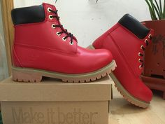 Timberland Boots Red Black For Women,Fashion Winter Timberland Women Shoes,New Timberland 2016 Women Boots
