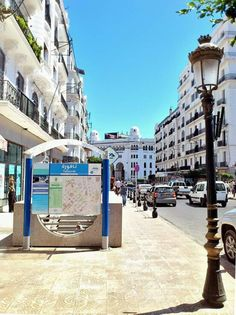 Rue didouche mourad , Alger