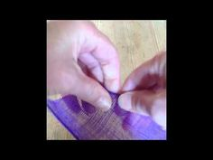Sinamay Leaves With Rolled Edge - YouTube