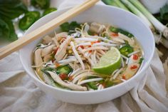 Pho Ga (Vietnamese Chicken Noodle Soup) | Relishing It