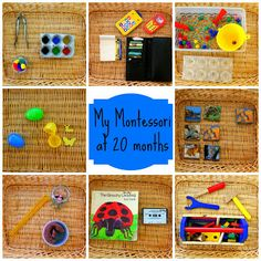 More Fun, Mom!: Montessori shelves at 20 months