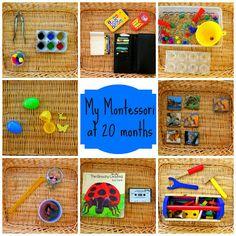 More Fun, Mom!: Montessori shelves at 20 months