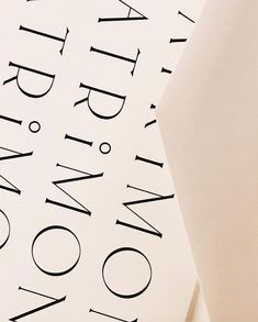 art deco inspired typography