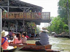 Boot mieten Auf dem Schwimmenden Markt in Damnoen Saduak Floating, Thailand, Marketing, Outdoor Decor, Home Decor, Decoration Home, Room Decor, Interior Decorating