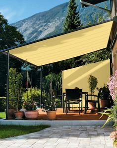 Diy patio canopy patio canopy ideas awesome new patio awning and canopy backyard ideas patio canopy ideas diy outdoor canopy bed Deck Shade, Backyard Shade, Outdoor Shade, Backyard Canopy, Canopy Outdoor, Pergola Patio, Diy Patio, Backyard Patio, Outdoor Decor
