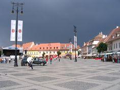 Orasul Sibiu, Romania. Sibiu Romania, San Francisco Ferry, Street View, Country, Building, Travel, Viajes, Rural Area, Buildings