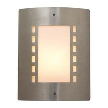 Buy the PLC Lighting 1873 SN Satin Nickel Direct. Shop for the PLC Lighting 1873 SN Satin Nickel 1 Light Outdoor Wall Sconce from the Paolo Collection and save.
