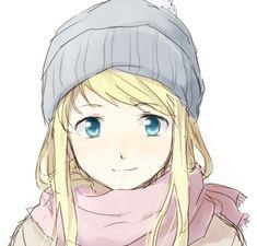 anime, beautiful, beauty, blonde, blue