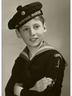Prince Harald of Norway, 1944