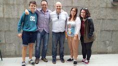#DIRECC L' auxiliar Andrea Macias que estarà a Primària amb la seva familia d'acollida.
