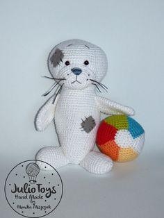Seal - crochet PDF pattern