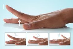 WebMD shows you easy hand exercises and finger exercises to help with range of motion and joint pain. Trigger Finger Exercises, Finger Stretches, Stretching Exercises, Arthritis Exercises, Rheumatoid Arthritis, Finger Arthritis, Occupational Therapy, Physical Therapy, Hand Wrist