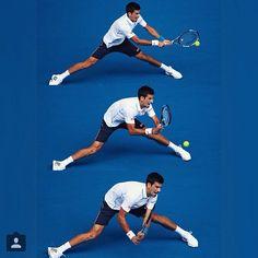 Alongamento :) // Novak Djokovic #tennis