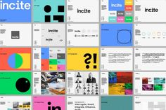 Incite by Proud Creative — The Brand Identity