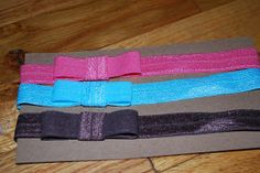 Recipes and Crafts, Oh My!!!: Simple Baby Headband