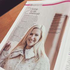 Kauppalehti Option haastattelussa Somecon konsultti ja kouluttaja Anna Storå