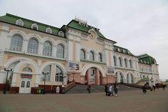 Жд вокзал #Хабаровск #РЖД #Хабаровскийкрай