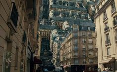 Images from Inception Filming in Paris