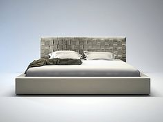 Bedroom Decor with King Upholstered Headboard: Upholstered Bed Frame With Sateen Sheets And Throw Pillows Also Pillowcase With King Upholstered Headboard And Grey Headboard Plus Platform Bed With Fabric Headboard For Bedroom Design