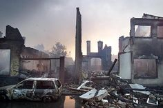 The day after...Vuurwerkramp Enschede  13 mei 2000