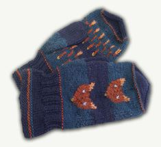 Kettulapaset, tumma sininen (9403). #mittenS:-) Knitting For Kids, Hand Knitting, Fingerless Mittens, Wrist Warmers, Mitten Gloves, Socks, Knitted Hats, Knit Crochet, Baby Kids